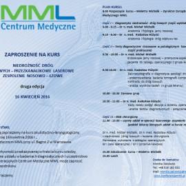 Zaproszenie na kurs laryngologiczno-okulistyczny – II edycja